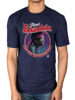 Official JIMI HENDRIX ARE YOU EXPERIENCED T-shirt War Heroes RAINBOW pont Sky