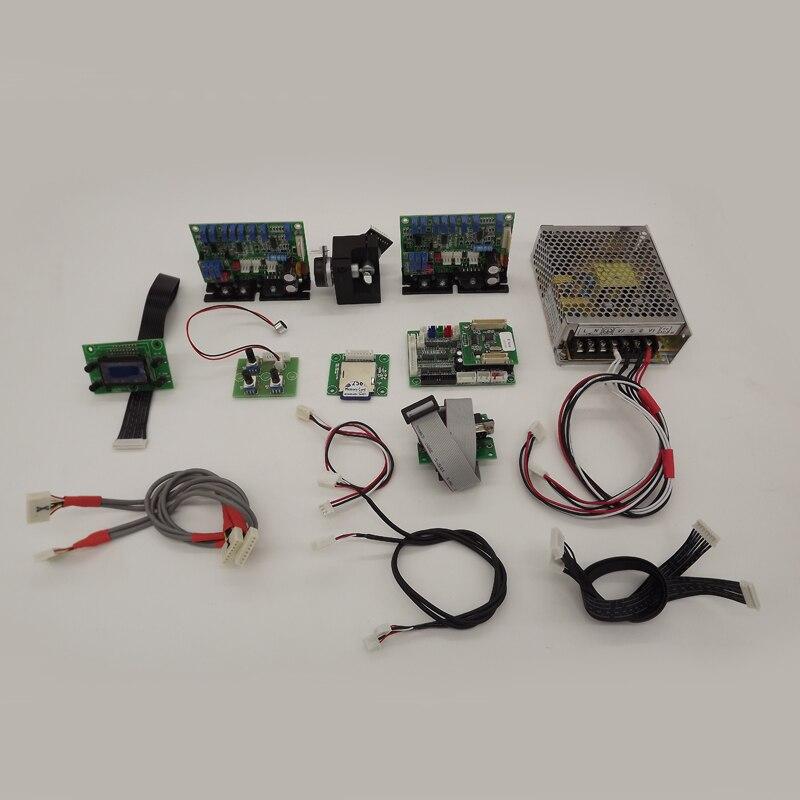 45K Galvo сканер замкнутый цикл гальванометр оптические сканеры лазерное сканирование Galvo Система сканирования включая Показать карты SD карты
