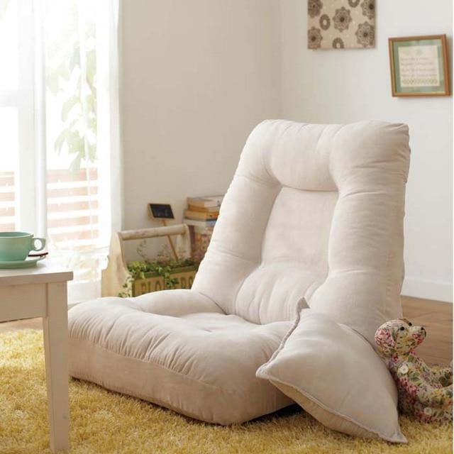 Louis Moda de Lazer único cadeiras de praia com travesseiro