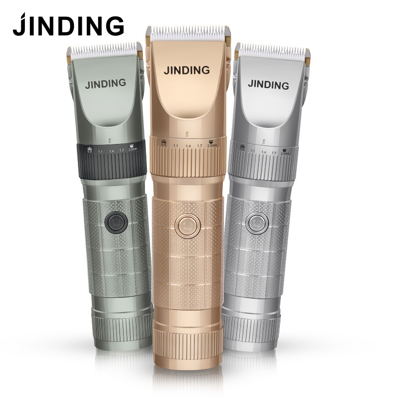 JINDING Electric Hair Clipper Trimmer Professional Hair Cutting Machine For Barber Men Hair Trimmer Rechargeable 100-240V rechargeable hair clipper with accessories set 220 240v ac