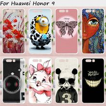 Ojeleye Phone Cases For Huawei Honor 9 Case STF-L09 STF-AL00 STF-AL10 STF-TL10 Cover Hard Plastic Soft TPU Bags Skins Shell(China)