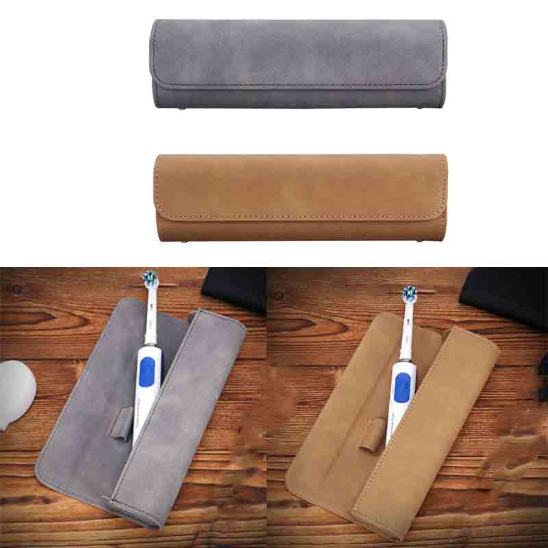 Diligent Magnetic Portable Travel Case Cover Storage Bag For Oral-b Philips Electric Toothbrush Or Make Up Brush High Standard In Quality And Hygiene