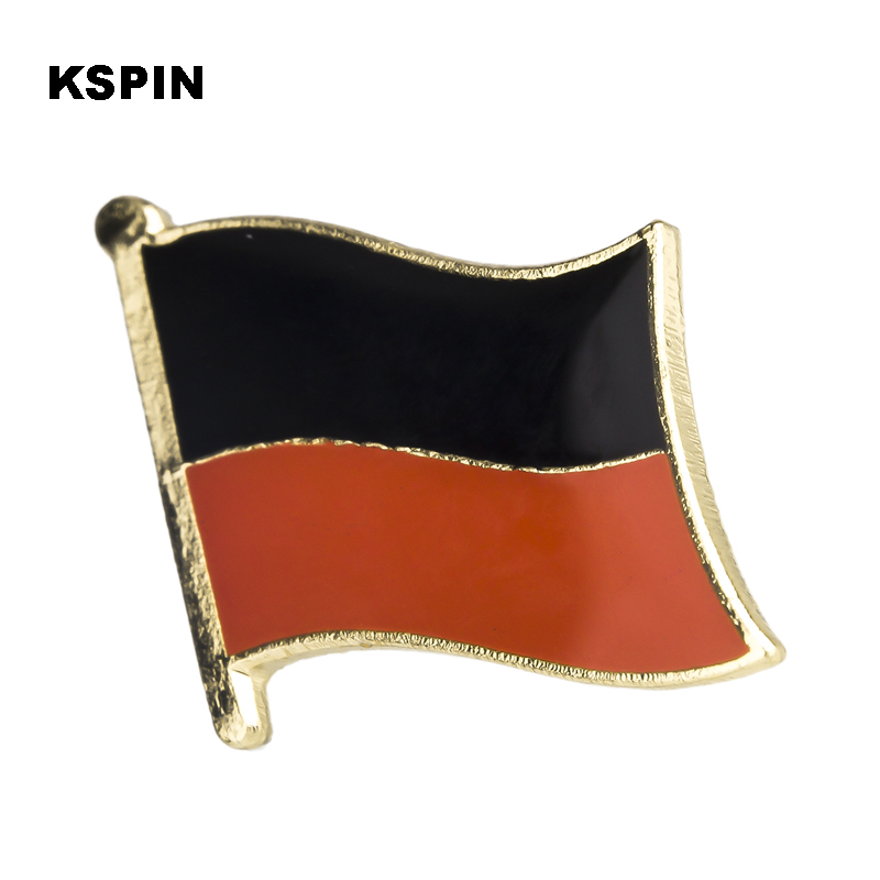 Arts,crafts & Sewing Badge Iml Walking March Flag Metal Badges For Clothes Flag Badges Enamel Lapel Pin Rozet Metal Pin Badges