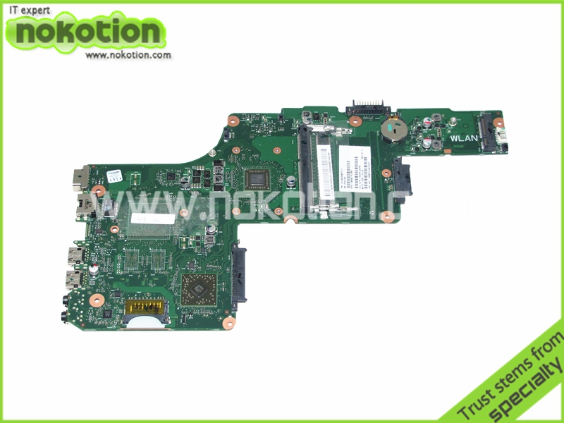 NOKOTION Laptop Motherboard for Toshiba Satellite C855D Mother boards V000275390 1310A2509717 Mainboard High Quality laptop motherboard for toshiba satellite l10 a000000720 da0ew3mb6d1 intel 855gm mainboard mother boards