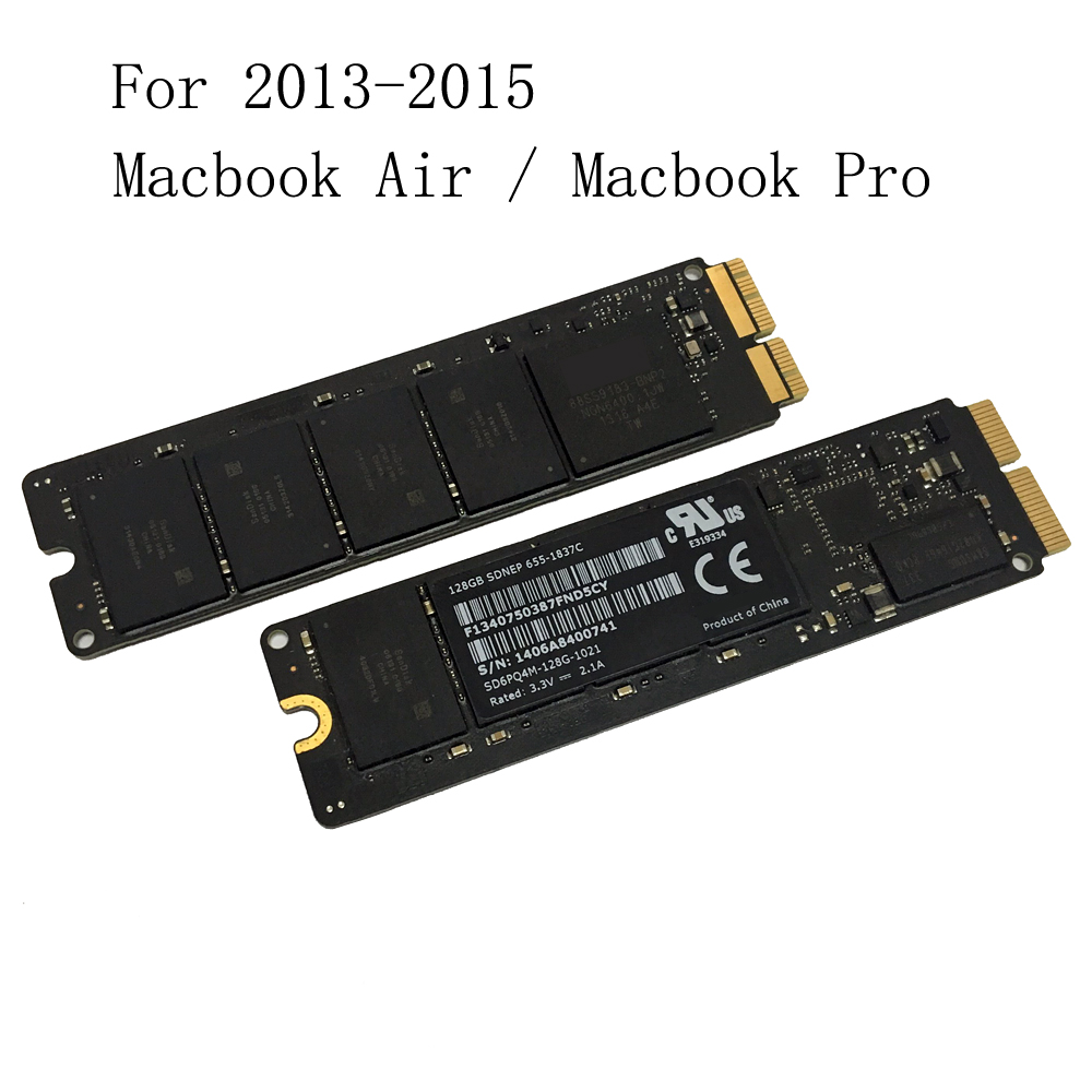 128 GB 256 GB 512 GB SSD pour 2013 2014 2015 Apple Macbook Pro Retina A1502 A1398 Macbook Air A1465 A1466 SSD lecteur à semi-conducteurs