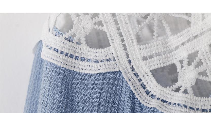 Off Shoulder Sexy Women Blouses White Lace Patchwork 2017 Summer New Arrival Slash Neck Ladies Chiffon Shirts Plus Size Tops 2XL 11