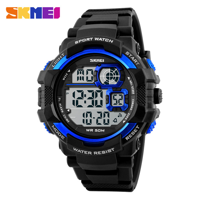 SKMEI Brand Fashion Outdoor Casual Men Wristwatches LED Digital Mens Military Watch Men Sports Watches relogio masculino