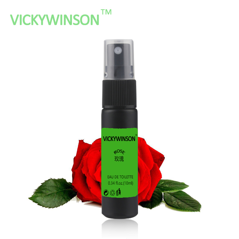 VICKYWINSON Rose Fragrance 10ml Essential Oil Set Incense Toilet Deodorant Bedroom Aromatherapy Bottle XS10