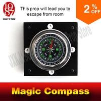 Adventure Escape Room Game Props For Takagism Game Magic Compass Get Hidden Clues Via Compass To