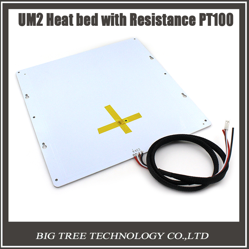 ФОТО 3D printer accessories DIY Ultimaker 2 UM2 hot bed resistance PT100 3D0281