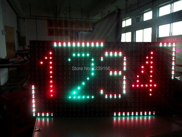 Leeman P10 Двойной цвет открытый p10 прокрутка текста сообщения панели светодиодный дисплей, полноцветный светодиодный программируемых входа табло