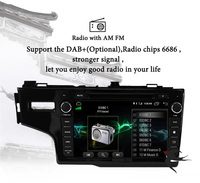 8 inch 4G+64G Octa 8 core android 9.0 car dvd for Honda Fit jazz 2014 2018 2019 multimedia car radio gps navigation