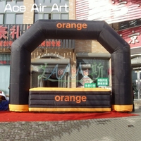 Hot sale inflatable Arch bar,kiosk bar with bar counter for advertising and party