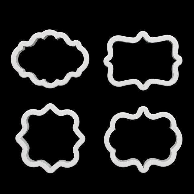 4 unids/set Marco Placa de Plástico Respetuoso Del Medio Ambiente de ...