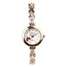 Luxury Women Bracelet Watches Fashion Women Crystal Dress Wristwatch Ladies Business Quartz Watch G-004