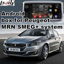 Android GPS navigation box video interface for Peugeot 508 (MRN SMEG+ system) with cast screen