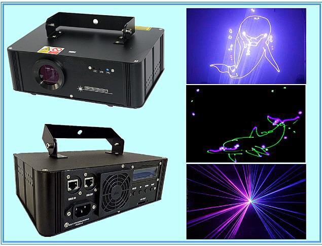 750 mw RGB di Animazione di Colore Completo Della Luce Laser Della Discoteca Della Fase del Laser Grasso Fascio DJ Laser Cortina di Pioggia SD Card 1 w 3D 2D ISHOW QUCICKSHOW