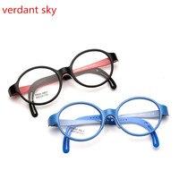 2017 Stylish Kids Eye Glasses Children Optical Frame Kids Cute Baby Student Safe Healthy Non Toxic