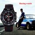 Мужчины спортивные часы кварцевые часы F1 racing горячей продажи моды мужской спорт стильный вахта повседневная круглый циферблат relogios