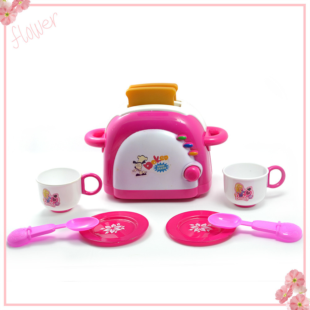 kitchen toy girl pink juicer toaster 2 4 years best kids combination ...