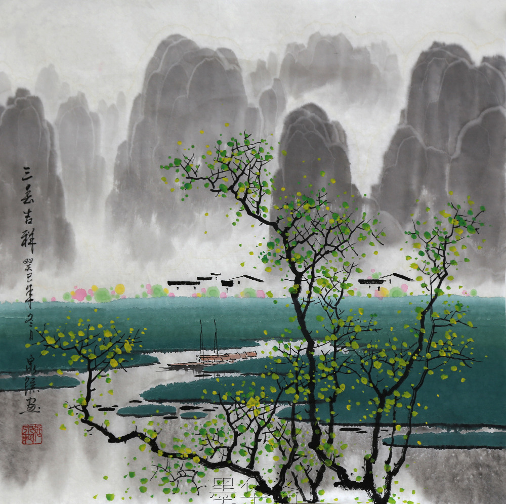 Image result for chinese paintings of spring