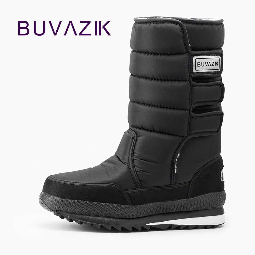 Мужские ботинки, утепленные теплые непромокаемые зимние ботинки, хлопковая  ткань внутри, теплые уличные мужские 32ea38959af