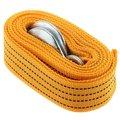 Cable de Cuerda Ewmolque EDFY para Coche 3000 KG 3 m con Ganchos Hebilla