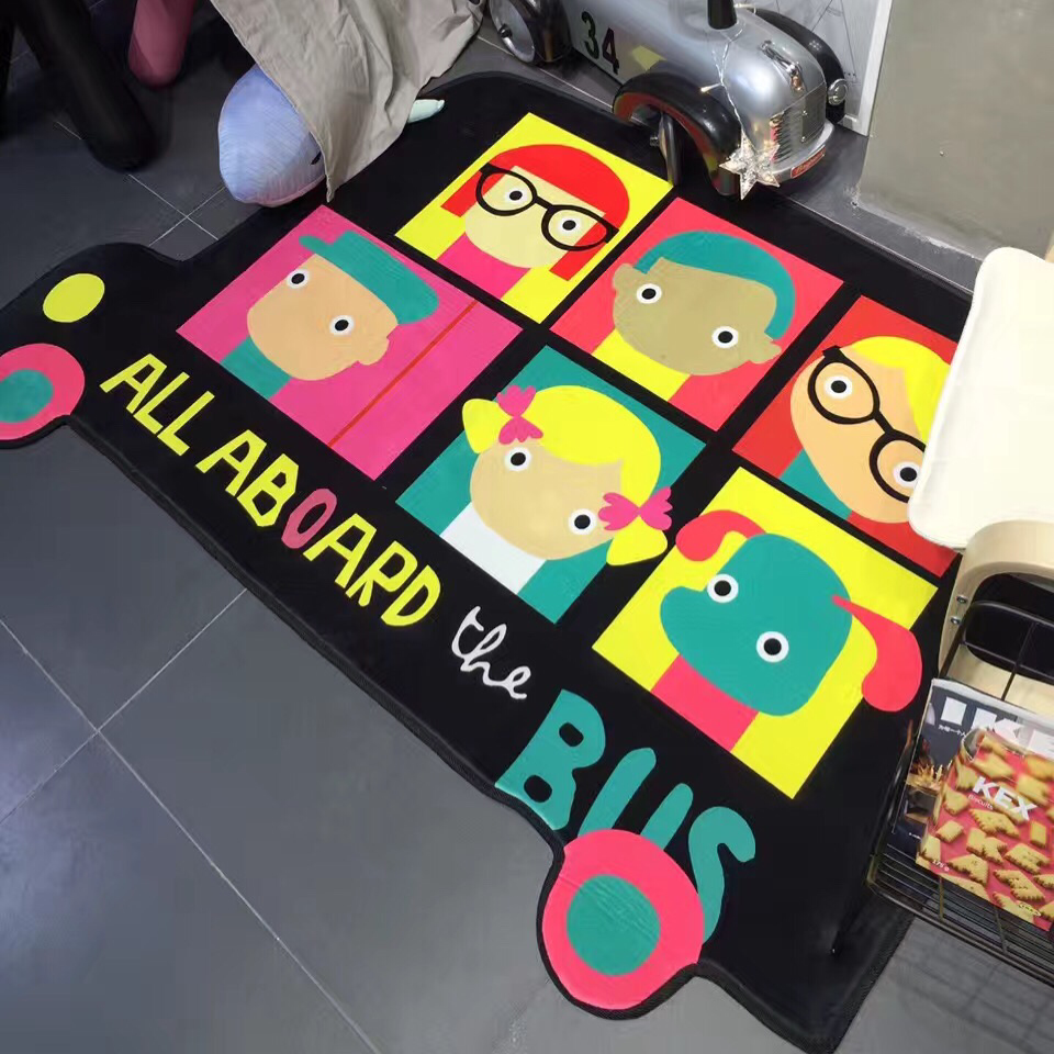 Online buy wholesale car area rug from china car area rug for Carpet kids room