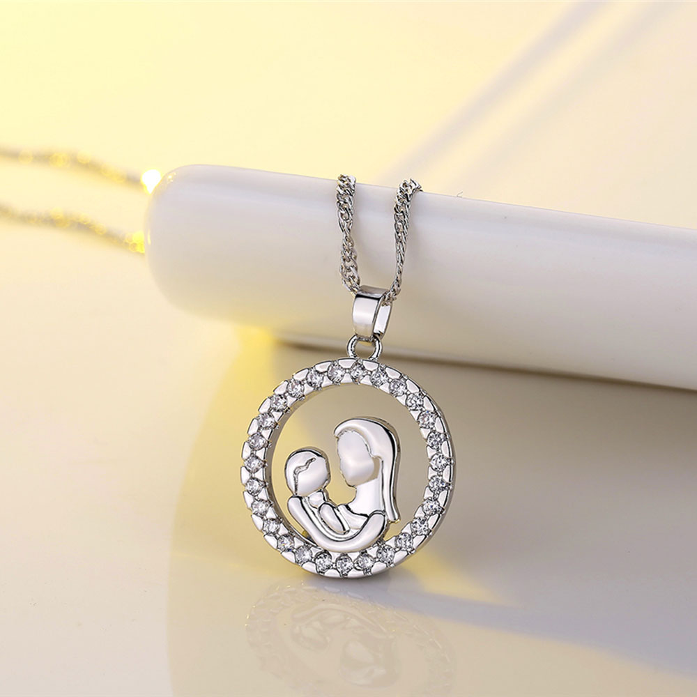 and necklace silver scrolling heart the sentimental motherhood deborah sterling expressions blessings jewelry gift by of plated birdoes filigree rhodium boomer inspirational