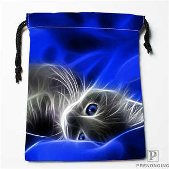 Custom Printing animals_Cats (1) Drawstring Shopping Bags Travel Storage Pouch Swim Hiking Toy Bag Unisex Multi Size19-01-04-11