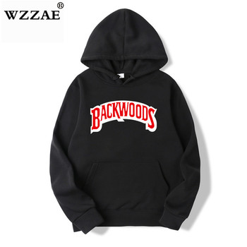 The screw thread cuff Hoodies Streetwear Backwoods Hoodie  3