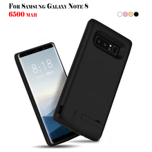 ФОТО 6500mah battery case for samsung galaxy note 8 power cover for samsung galaxy note 8 usb charger capa fundas for android