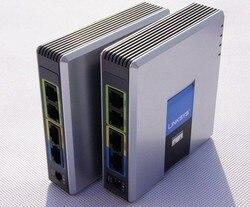 Envío rápido! Buena calidad desbloqueado Linksys SPA9000 ippbx ip voip telefonía sistema sin caja al por menor