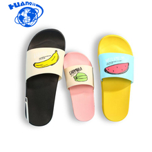 HUANQIU 2018 New Women Slippers Fashion Summer lovely Ladies Casual Slip On Fruit jelly Beach Flip Flops Slides Wyq124