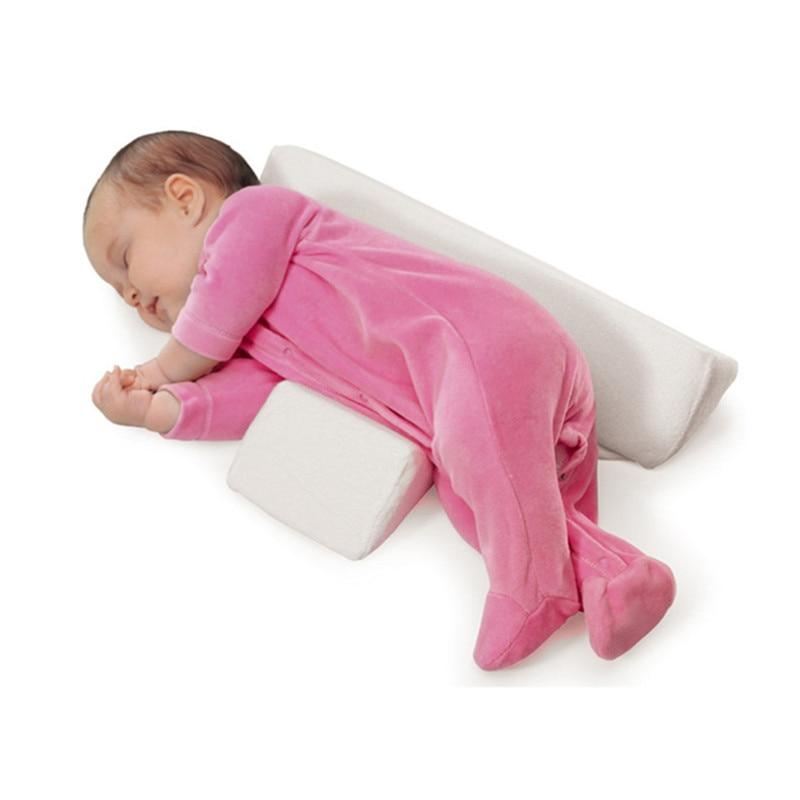 High-quality-pillow-Newborn-Baby-Infant-Sleep-Positioner-Prevent-Flat-Head-Shape-Anti-Roll-Pillow-2018(4)