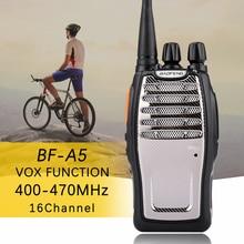 (1 PCS)BaoFeng UHF Walkie Talkie BF-A5 16CH VOX+Scrambler Function Free Shipping Two Way Radio baofeng A5