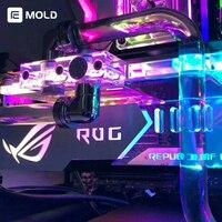 Graphics Card bracket holder ROG AORUS MSI NVIDIA Frame gpu block support compatible asus/msi motherboard 5v 3pin/12v 4pin