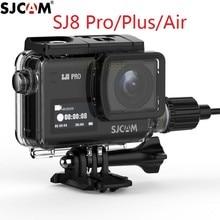 Sj8 충전기 케이스에 대 한 sjcam sj8 프로/플러스/공기 충전 주택 액션 카메라에 대 한 새로운 원래 sjcam 오토바이 방수 케이스
