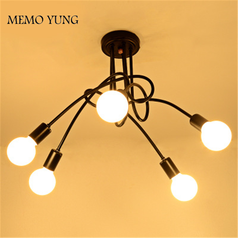Nordic Ceiling Lights For Decoration Of Parlor Study Modern Series Item Quality Assurance White And Black Ceiling Lamps