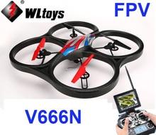 In stock Original WLtoys V666N 5 8G FPV 6 Axis Gyro UFO Barometer Set High