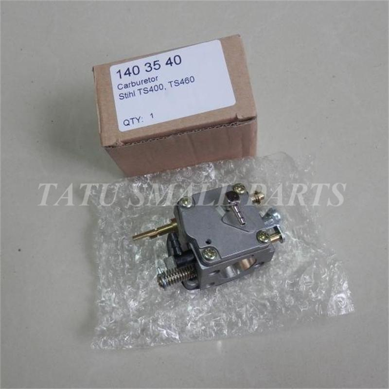 TS460 CARBURETOR HS279 FOR ST. CONCRETE  CUT OFF SAW TS400 CHOP SAW CARB CARBURETTOR  CARBY ASY REPL WALBRO PARTS high quality carburetor carb carby for husqvarna partner 350 351 370 371 420 chainsaw poulan spare parts walbro 33 29