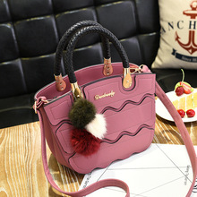 2017 Summer Tote Women Leather Handbags Ladies Party Shoulder Bags Fashion Top-Handle Bags Cute Flap Bags With Doll Decoration