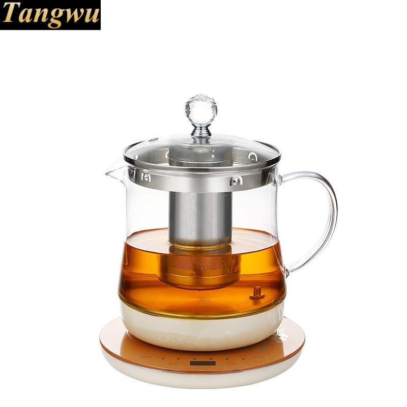 Intelligent health teapot flower fully automatic boiled tea stove glass raised pot health raising pot is fully automatic and thickened glass