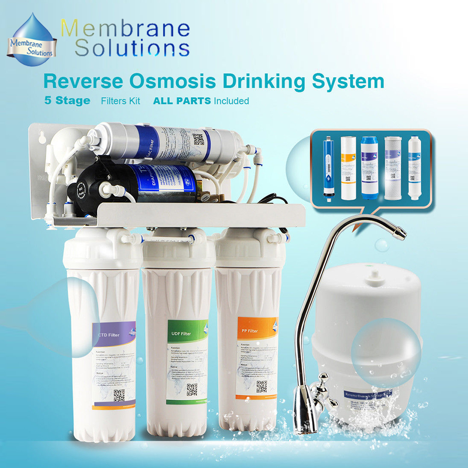 Ms 5 Stage Ro Water Filter System For Household Reverse