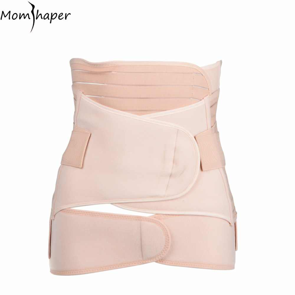 3 Pieces/Set Bandage Maternity Postnatal Belt Pregnancy Bandage Belly Band waist corset Pregnant Women Slim Shapers underwear