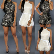 Sought-After Summer Womens Celeb Sexy Mini Playsuit Ladies Jumpsuit Shorts Beach Sun