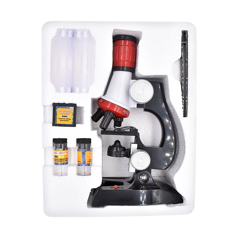Stereo Microscope Kit Lab 1200X Home School Students Science Educational Microscope