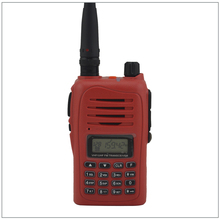 136-260MHz 7W 199CH FM Portable walkie talkie Two-way Radio Transceiver 3022 Color Red