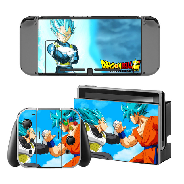 Dragon Ball Sticker for Nintendo Switch Console Protector Cover Decal Vinyl Skin for Skin Sticker For Nintendo Switch Accessory 5