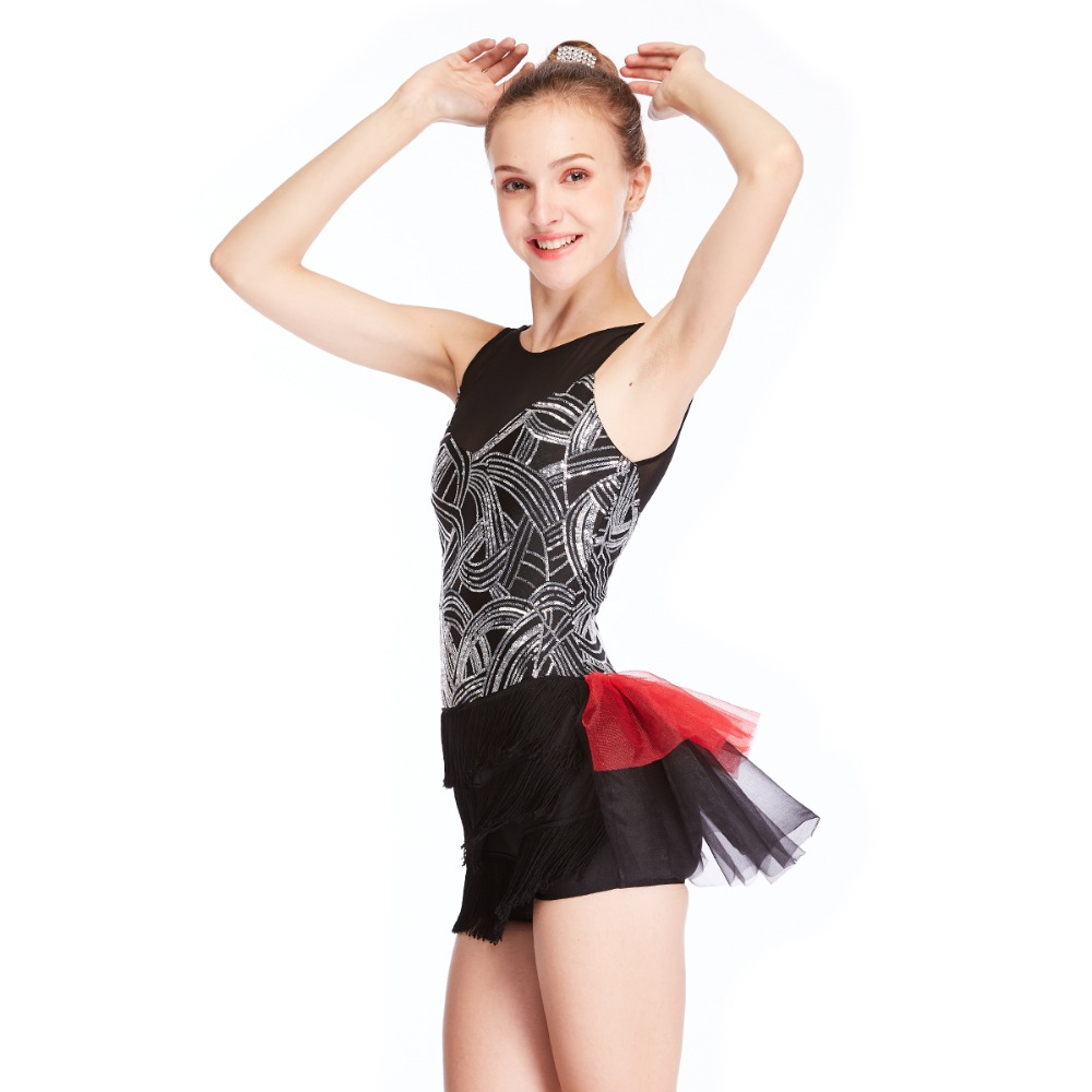 3caa1c7bf297 Floral Neckline & Waist Shiny Leotard Ballet Dress Women Blue Ballet Tutu Girls  Dance Clothes Dance Outfits For GirlsUSD 69.99-77.99/piece